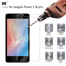 25 Pcs Tempered Glass For Leagoo Power 2 Screen Protector 2.5D 9H Pro Protective Film