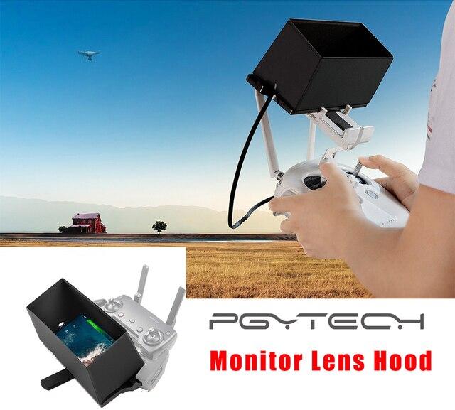 PGYTECH Smartphone צג שלט רחוק מכסה המנוע כיסוי שמש צל שמש הוד עבור DJI Mavic מיני/Pro/אוויר/פנטום 4/ניצוץ בקר