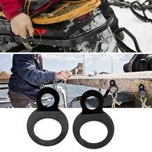 2 предмета мотоцикл галстук вниз кольца с ремешком для мотокросса/Байк/ATV/UTV и т. д. 8/18 мм Нержавеющая сталь Аксессуары для мотоциклов