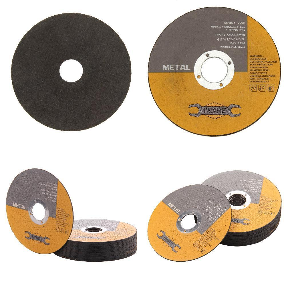 """20x Ultra thin Stainless Angle Grinder Cut For Most Angle Grinders 115mm 4.5"""" Power Tools Accessories Metal Cutting Discs"""
