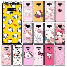 MaiYaCa Hello Kitty Phone Case For Samsung Galaxy A50 A70 A20 A30 Note9 8 Note7 Note10 Pro(China)