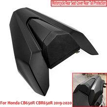 Para honda cb650r cbr650r cb650r 2019 2020 acessórios da motocicleta capa de assento traseiro com almofada de borracha traseira da cauda capa
