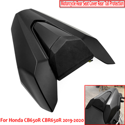 For Honda CB650R CBR650R cb650r 2019 2020 Motorcycle accessories rear seat cover with rubber pad rear tail cover
