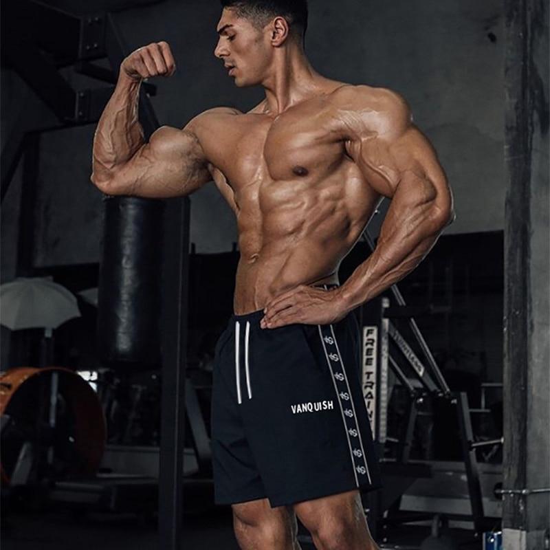 Fashion Cotton Fitness Men's Shorts Brand Men's Sports Pants Jogger Streetwear Running Workout Sportswear