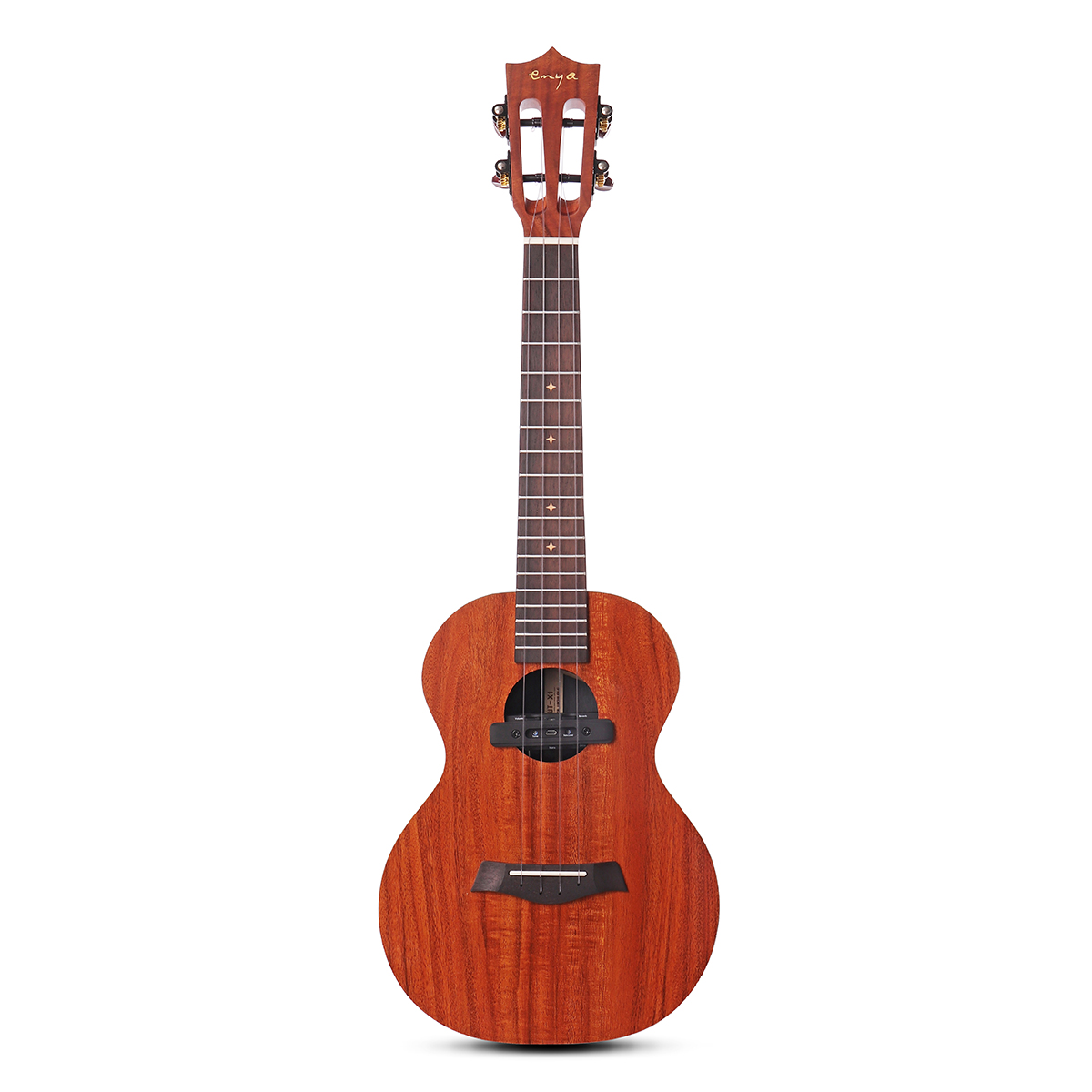 Enya EUT-X1 26 Inch Full Board HPL KOA Ukulele Classical Headstock With Bag/Tuner/Capo Accessories