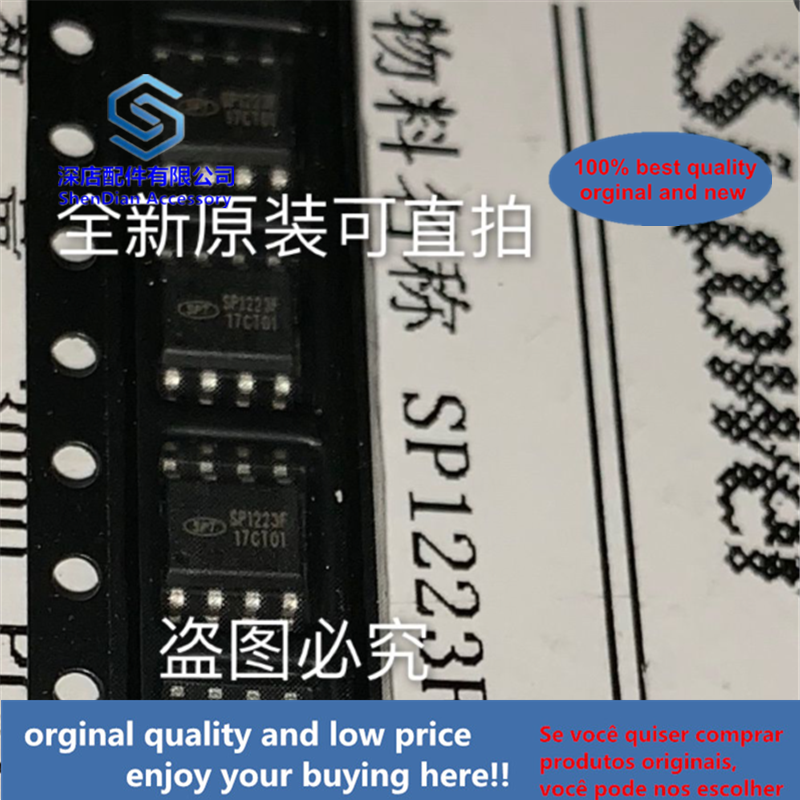 10pcs 100% Orginal And New SP1223F SI-POWER SOP8 SP1223F-T Best Qualtiy