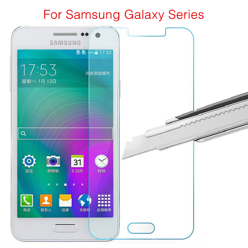 9H 0.3mm Protective Tempered Glass on the for Samsung Galaxy J7 J5 J2 Prime J3 A3 A5 A7 2016 G530 Screen Protector Film Glass image