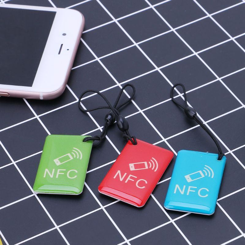 H4ce5bc427b314bb6a8cd9b3793f6ef5fs Waterproof NFC Tags Lable Ntag213 13.56mhz RFID Smart Card For All NFC Enabled Phone Patrol attendance access