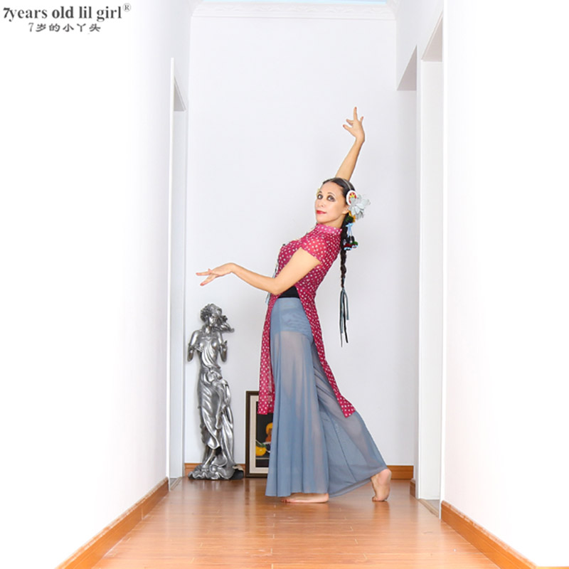 Belly Dance Suit Danse Classical Dancing Performance Clothes Bellydance Costume Gypsy Skirt CZZ04