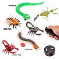 Controle Remoto infravermelho Brinquedos Simulação cobra abelha Inseto, robô de brinquedo Eletrônico para o gato do cão, prank Brinquedos Engraçados do dia das bruxas