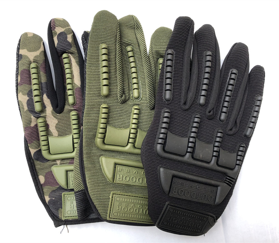 New Army Outdoor Tactical Gloves Full Finger Sports Hiking Camping Cycling Military Men's Gloves Anti-Skid Protection Rekawiczki