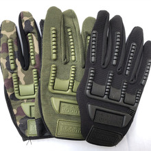 New Army Outdoor Tactical Gloves Full Finger Sports Hiking C