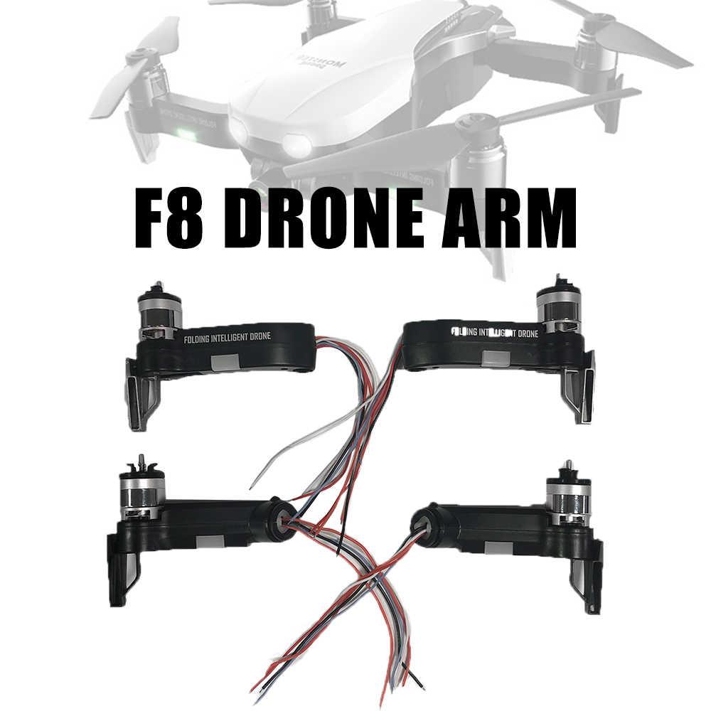Original F8 Droneอุปกรณ์เสริมอะไหล่แขนBrushlessมอเตอร์สายชาร์จUSB