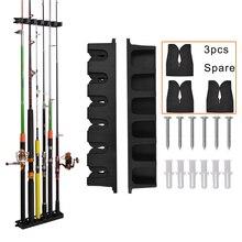 Vertical Rod holder Fishing rod Rack Fishing Pole Display Rack Stand Organizer Bracket for Storage
