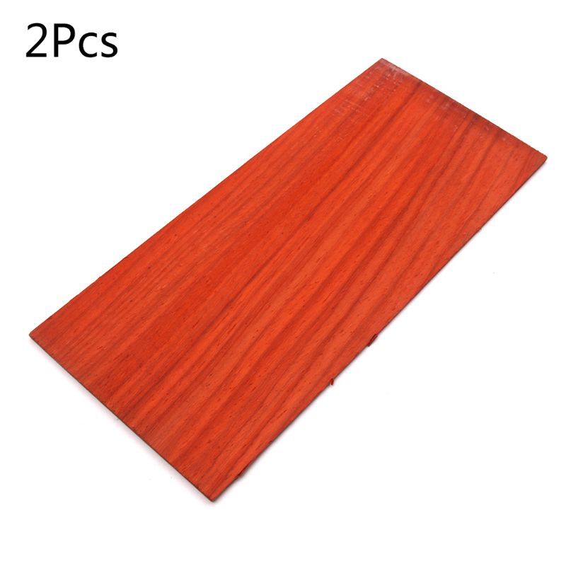 2 Pcs/set Wooden Acoustic Folk Guitar Head Veneer Sheets Musical Instrument Parts Accessories