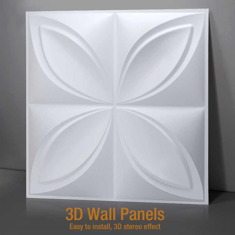 3D moules en plastique pour 3D panneaux de carreaux moule plâtre mur pierre mur