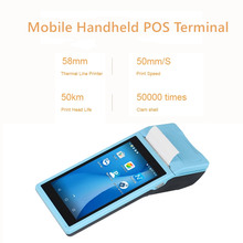 Q2 Gratis P.o.s Pos Systeem Loyverse Android Pad Met Thermische Printer 1G + 4G/8G