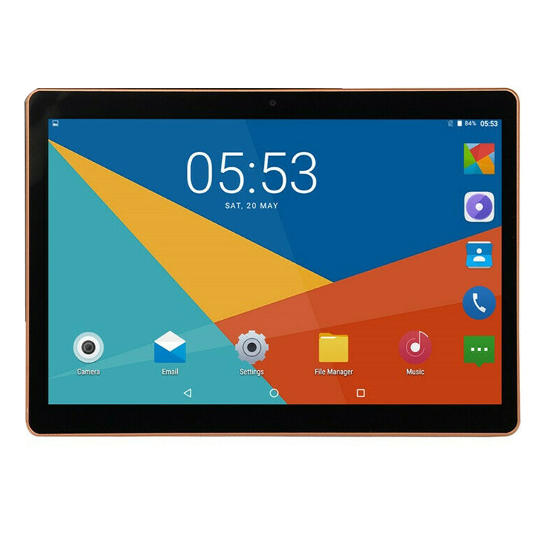 New 10.1 Inch Tablet 3G Phone Call Android 7.0 Tablets 2GB + 32GB Quad Core Dual Camera For Google Market GPS WiFi ,US Plug
