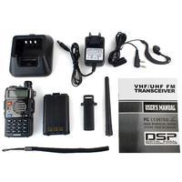 ווקי טוקי Retevis RT-5RV מכשיר הקשר VHF UHF Dual Band 5W VOX כף יד 2 Way רדיו משדר CB רדיו Comunicador ווקי טוקי (5)