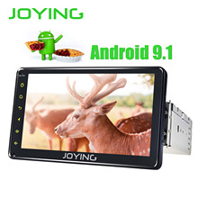 JOYING Универсальный 1 din android 9,1 автомобильный мультимедийный плеер головное устройство 7 ''четырехъядерный 2 Гб wifi BT Поддержка сплит-экрана Зеркало Ссылка HD