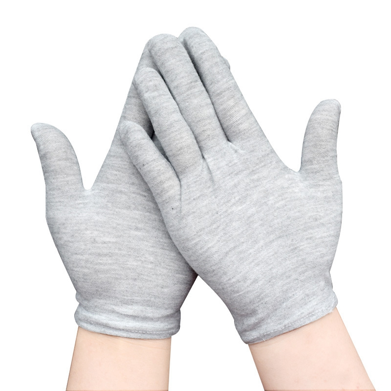 Cotton Gloves Anti Vibration Heat Resistant Antistatic Sweatproof Dirty Mechanics Driver Safety Work Protective Gloves Sales