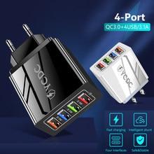 5v 2a 3.5a 1 4 portas usb carregamento rápido adaptador de energia usb telefone viagem casa carregador eua ue plug para xiaomi m15 5S 5S mix samsung