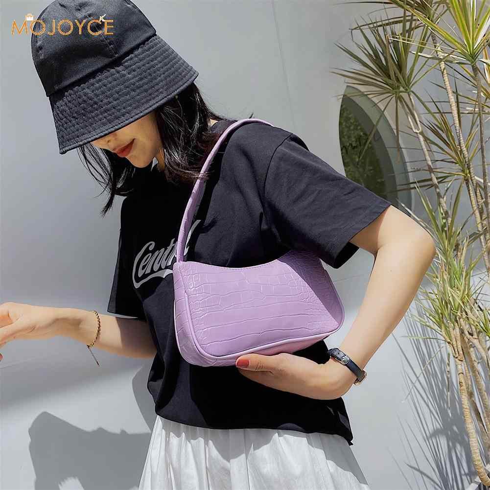 Bolsa feminina transversal couro pu, casual, bolsa feminina, elegante, com corrente, de ombro, popular, simples