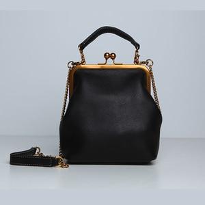 Image 1 - คุณภาพสูงPUหนังผู้หญิงกระเป๋าถือแฟชั่นVintageออกแบบกระเป๋ากระเป๋าโซ่ไหล่Crossbodyกระเป๋า