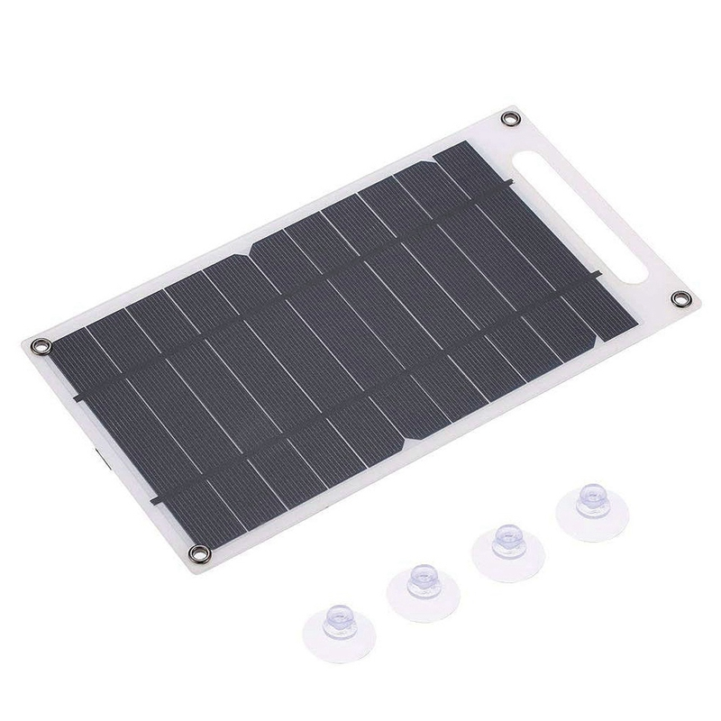 Solar Panel Charger USB Port Portable High Power Paper Shaped Monocrystalline Silicon for Cell Phone RV Camping|RV Parts & Accessories| |  - title=