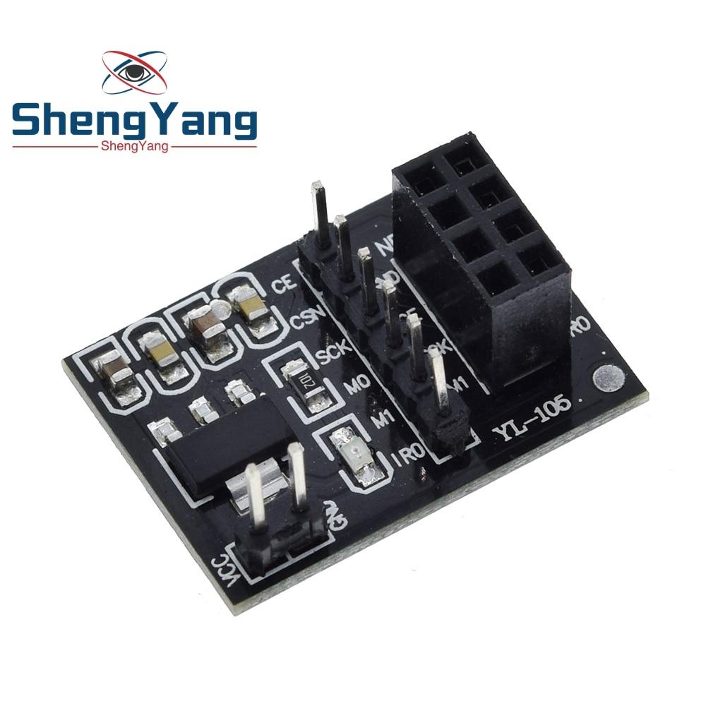 3Pcs Socket Adapter Plate Board 8Pin NRF24L01+WIRELESS Transceive Module bs