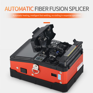 Image 2 - A 81S כתום באופן מלא אוטומטי Fusion כבלר מכונת כבלר היתוך סיבים אופטי שחבור מכונת