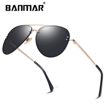 BANMAR DESIGN Fashion Lady Sun glasses 2019 Rimless Women Su