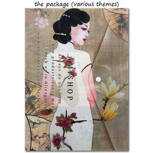 Image 2 - Thu Vàng Đáng Yêu Được Tính Chéo Nữ Thời Trang Bộ Thành Phố Tàu Trong Một Chai Thời Đại Công Nghiệp Vintage Sang Trọng Chai Lọ Nhớ