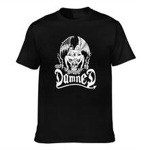 Maldito diabo gêmeos topos t camisa nova camiseta gráficos com mangas curtas