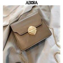ADORA Luxury Handbags Women Bags Designer  Messenger Bags  Flap  PU  Shoulder Bag  Women Bag  Handbag  Crossbody Bags for Women