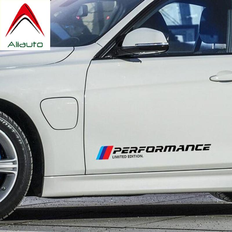 Автомобильные наклейки на двери и талии Aliauto, ограниченная серия, аксессуары для BMW X1 X3 X4 X5 X6 M1 M2 M3 M5 M6 5