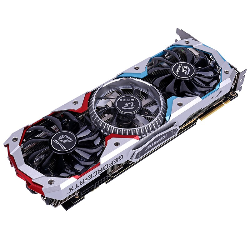 Colorful GeForce RTX 2080 AD Graphic Card Special OC GPU GDDR6 8G iGame Video Card Nvidia One-key Overclock RGB Light 2