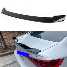 Car Rear Lip Spoiler Tail Trunk Wing Trim For Volkswagen Jetta 2019 Gloss Black ABS Plastic Auto Exterior Moulding
