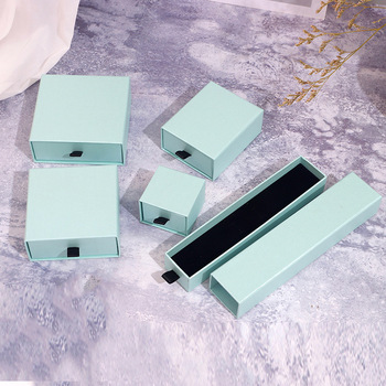 Drawer Cardboard Jewelry set Boxes for Necklace Pendants Packaging Paper Jewelry Display Organizer Storage Gift Box Personalized 10pcs brown kraft paper box gift packing box gift boxes for jewelry wedding necklace jewelry packaging display storage boxes