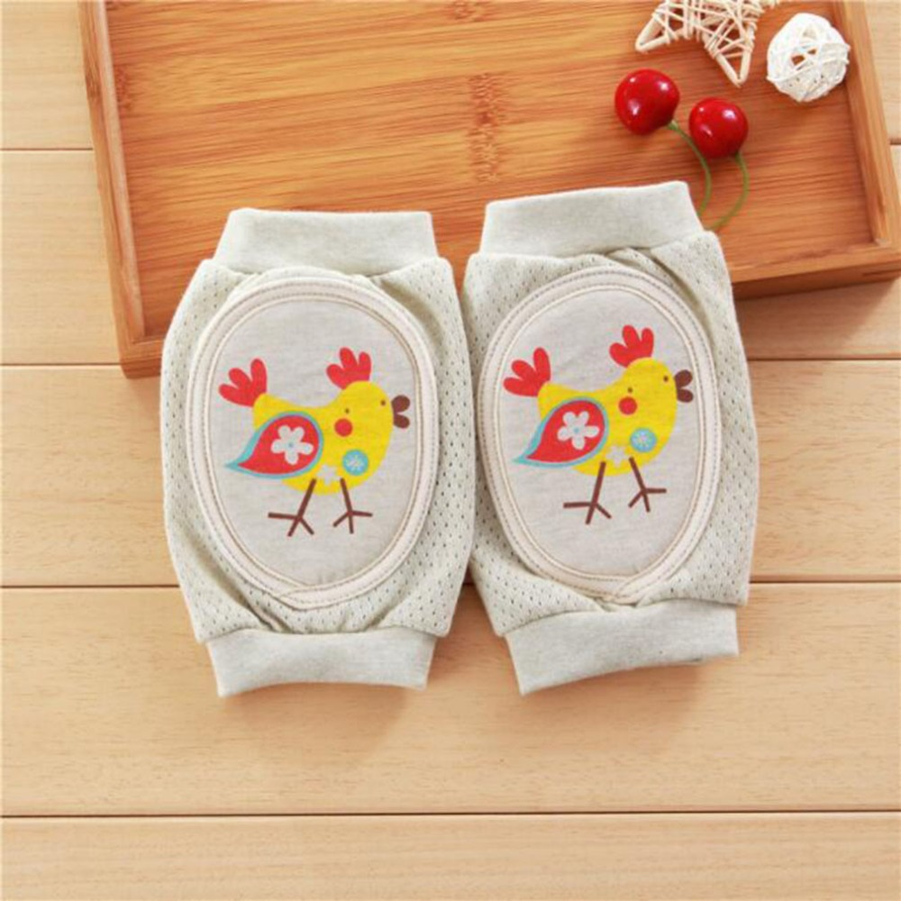 New Style Baby Boys Breathable Infants Sponge Knee Pads Protector Children Leg Warmers Kids Learn To Walk Infant Knee Protector