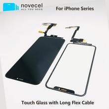 Novecelタッチスクリーン拡張タッチフレックスケーブル不要はんだiphone × xsmax 11pro最大交換部品