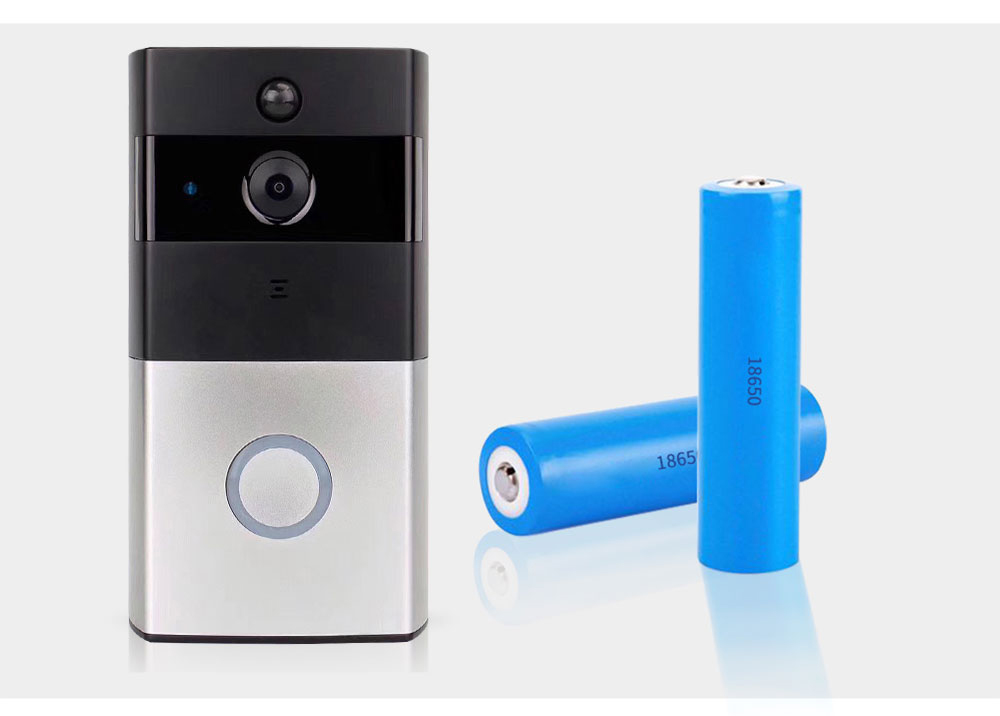 Ring Doorbell With Camera WiFi Video Wireless Intercom 720P Bell Chime Two-Way Audio APP Control For iOS Android Battery Powered