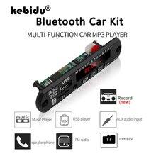 Module-Support Mp3-Player Decoder-Board Audio Car-Fm-Radio Bluetooth Hands-Free Wireless