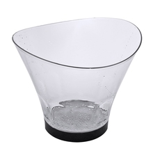 Lighting Ice-Bucket-Bar Entertainment-Stand-Holder Wine Trough-Water LED Gradient Outdoor
