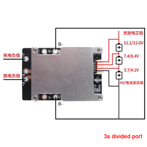 Image 4 - Dykb 3S 4S 12V 100A 200A 300A 380A Lithium Li Ion LiFePo4 Batterie Schutz BMS Board W/balance Hohe strom 3 4 zelle Inverter