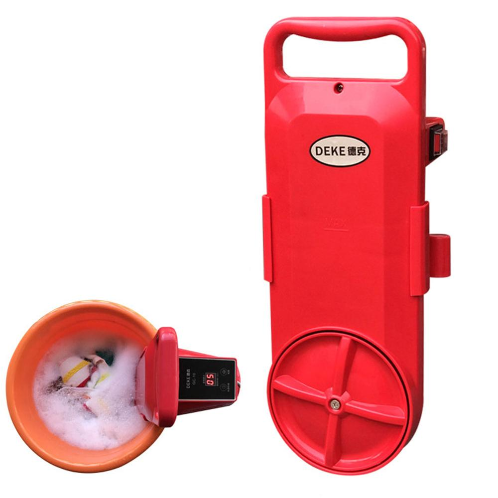 Portable Mini Washing Machine Bucket Clothes Washer For Travel