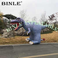 Outdoor giant mascot balloon inflatable dinosaur T rex inflatable dragon cartoon for park decoration