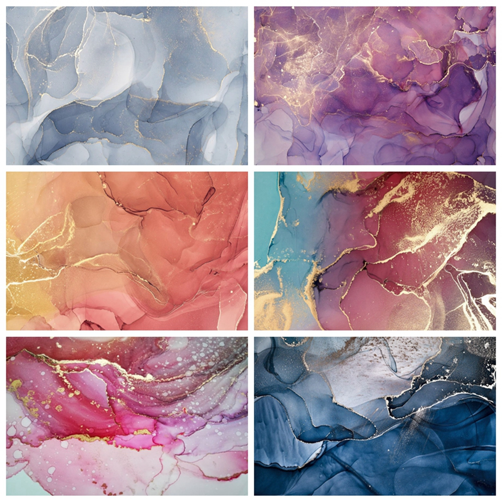 Yeele Marble Backdrop Pattern Texture Abstract Gradient Grunge Baby Photography Background For Photo Studio Photophone Photocall