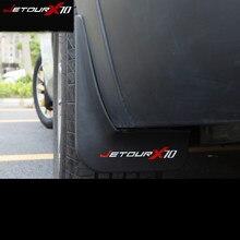 Lsrtw2017 Abs araba tekerlek çamurluk çamurluk çamurluk koruyucu Chery Jetour X70 2018 2019 aksesuarları oto Styling