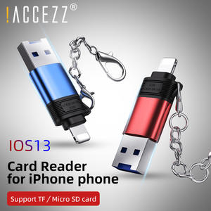 Memory-Cards-Reader Usb-Adapter OTG Apple ACCEZZ iPhone 11 Tf/micro-Sd-Card IOS13 6s-Plus